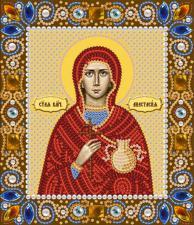 Святая Великомученица Анастасия. Размер - 13 х 15 см