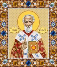 Святой Григорий Богослов. Размер - 13 х 15 см.