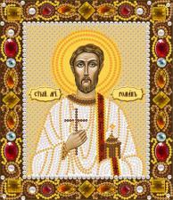 Святой мученик Роман. Размер - 13 х 15 см.