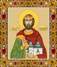 Св. Блг. Князь Владислав Сербский. Размер - 13 х 15 см.