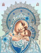 Богородица Корсунская. Размер - 20 х 25,5 см.