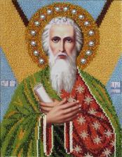 Святой Андрей Первозванный. Размер - 19 х 24 см.