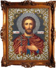 Святой Виктор. Размер - 19 х 24 см.