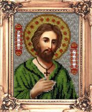 Св. Алексий, Человек Божий. Размер - 12 х 16 см.