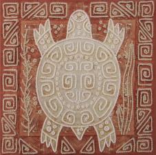Символ: Долголетие. Размер - 25 х 25 см.