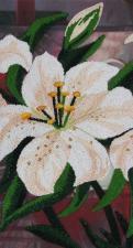 Лилии 1. Размер - 20 х 37 см.