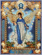 Ангел Хранитель домашнего очага 1. Размер - 26,5 х 35,8 см.