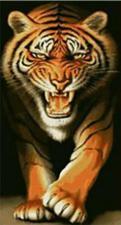 Тигр. Размер - 55 х 100 см.