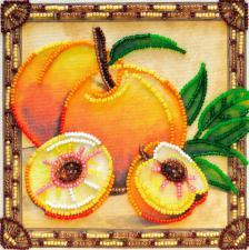Солнечные персики. Размер - 15 х 15 см.