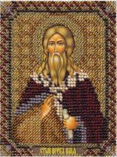 Икона Св. Пророк Илья. Размер - 8,6 х 11 см.