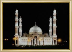 Мечеть. Размер - 42 х 30,3 см.
