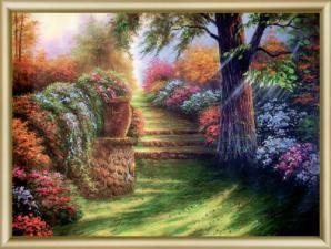 Дивный сад. Размер - 42 х 30,3 см.