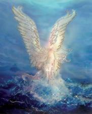 Морской ангел. Размер - 24 х 29,5 см.