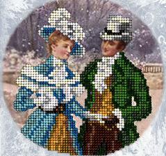 Рождественские истории 18. Размер - 11,9 х 11,9 см.