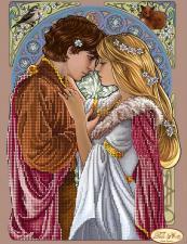 Ромео и Джульетта. Размер - 24 х 32 см.