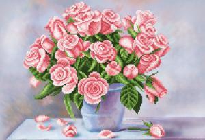Ароматные розы. Размер - 39 х 27 см.