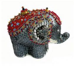 Слон в попоне.
