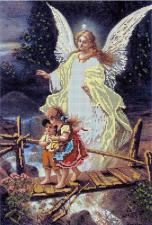Ангел хранитель. Размер - 27 х 40 см.