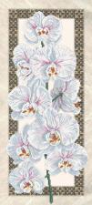 Орхидея (на бежевом).