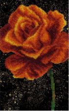 Роза. Размер - 11 х 17,5 см.