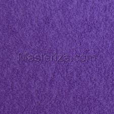 Фоамиран плюшевый (фиолетовый).