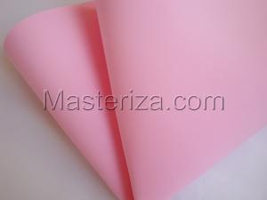Фоамиран premium (бледно-розовый).