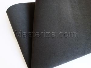 Фоамиран premium (чёрный).