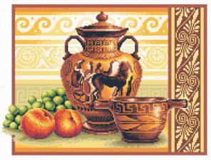 Греческие вазы. Размер - 25х34 см