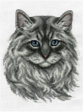 Невский маскарадный кот. Размер - 17 х 20 см.