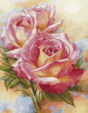Розовые мечты. Размер - 28 х 36 см.