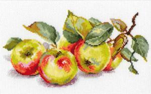 Яблоки. Размер - 27 х 15 см.
