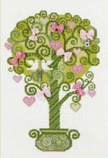 Дерево счастья. Размер - 21 х 30 см.
