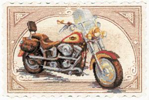 Harley Davidson. Размер - 38 х 26 см.