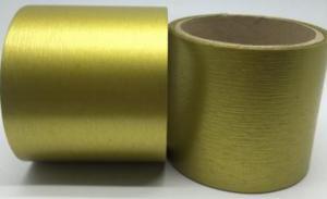 Лента Аспидистра (золото). Ширина 8 см.