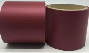 Лента Аспидистра (бордовый). Ширина 8 см.