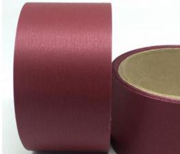 Лента Аспидистра (бордовый). Ширина 5 см.