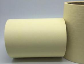 Лента Аспидистра (молочный). Ширина 12 см.