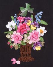 Цветы для любимой. Размер - 19,5 х 26 см.