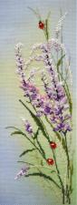 Полевые цветы. Размер - 11 х 32 см.