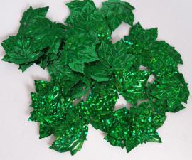 Кленовый листок (зелёный перламутр).