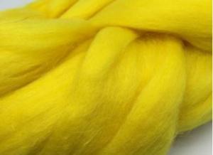 Шерсть для валяния жёлтая (104).