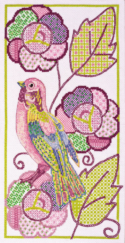 Рисунок для вышивки нитками
