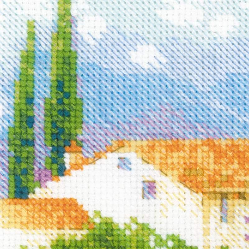 Вышивка крестом прованс набор 4