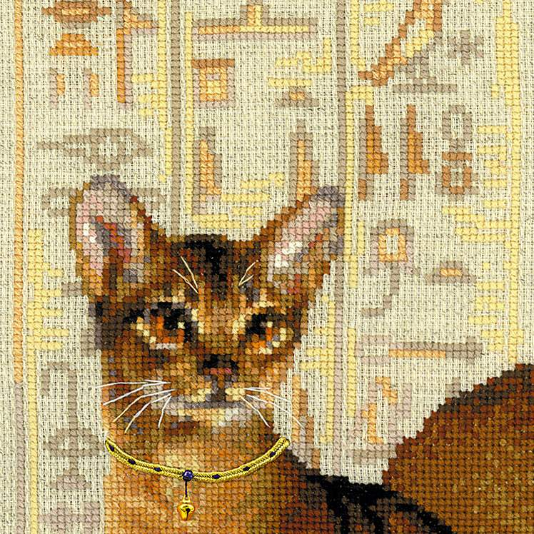 Вышивки крестом кошки фото 17