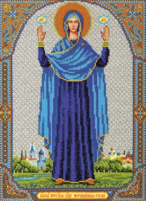 Наборы вышивки ювелирным бисером иконы 865