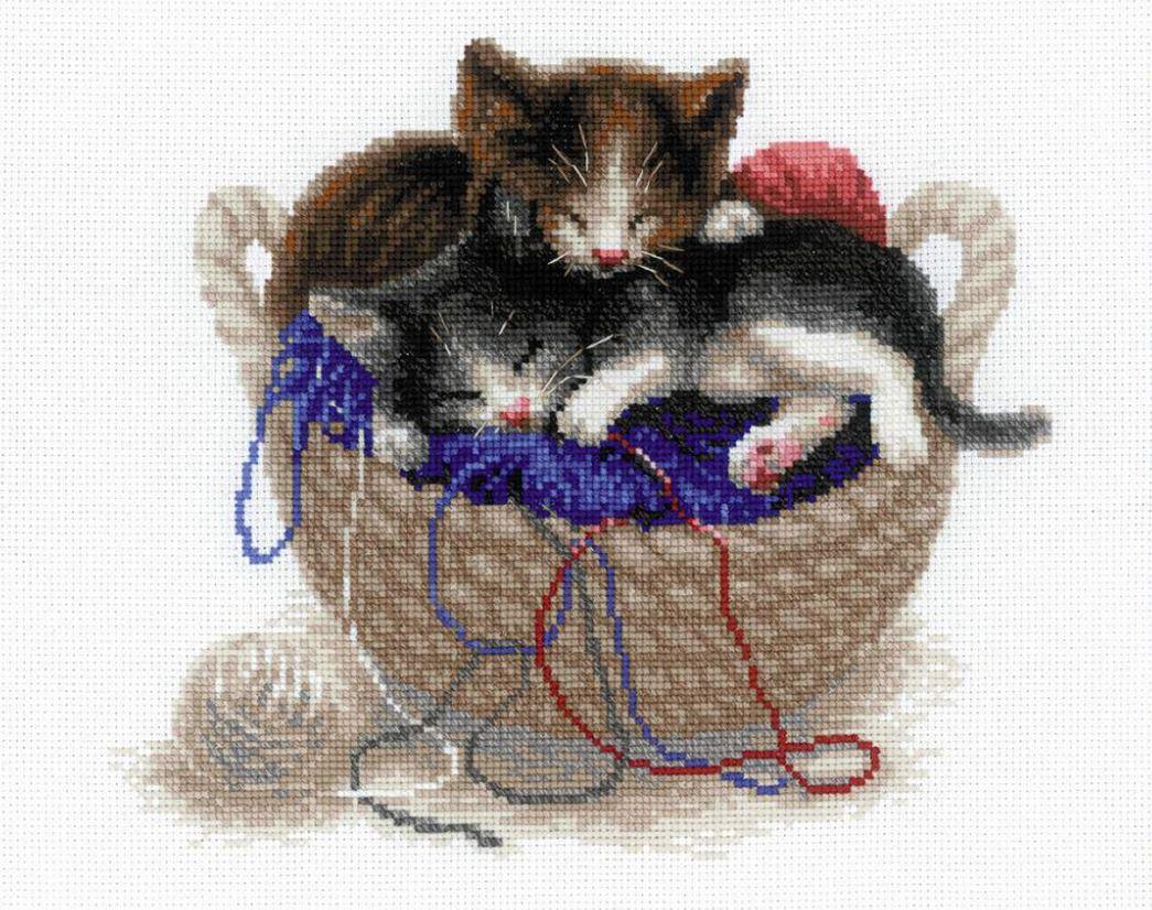 Купить наборы для вышивания из коллекции «Кошки» 1