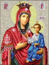 Иверская икона Божьей Матери. Размер - 20 х 26 см.
