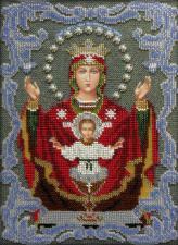 """Икона Божией Матери """"Неупиваемая чаша"""". Размер - 18,5 х 25,5 см."""