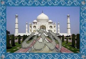 Мечети мира. Тадж-Махал. Размер - 20 х 14 см.