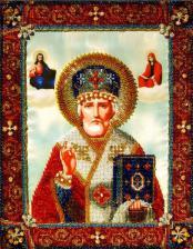 Святитель Николай Чудотворец. Размер - 25 х 32 см.